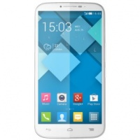 Alcatel One Touch Pop C9 Smartphone, Dual SIM, 4 GB, Bianco